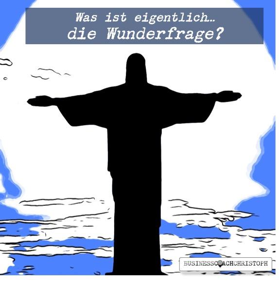 Schattenhafte Jesusbüste breitet die Arme aus